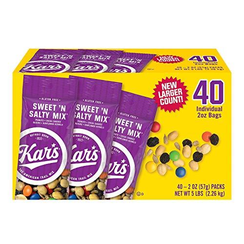 Kar's Sweet 'n Salty Mix 40 Individual 2 oz Bags (1)