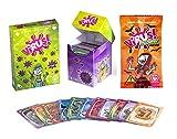Pack Juego de Cartas Virus + Virus Halloween + 120 Fundas. Edicion Española. +8 años