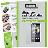 dipos I 2X Schutzfolie matt kompatibel mit Huawei Ascend P6 Folie Bildschirmschutzfolie