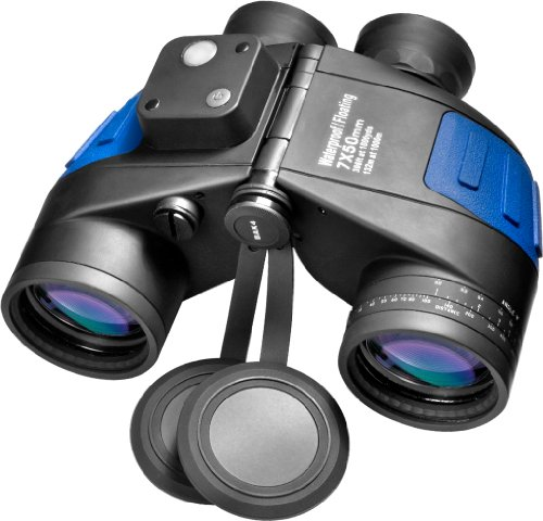 BARSKA Deep Sea 7x50 Waterproof Floating Binocular w/...