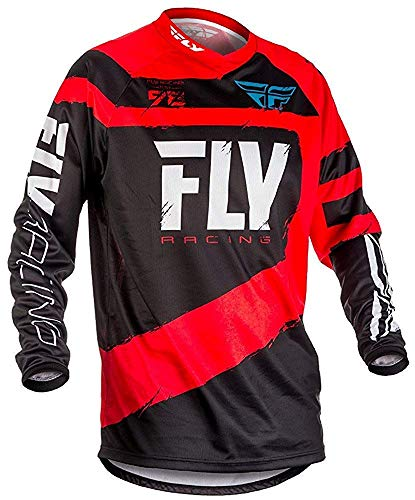 Fly Racing 2018 F-16 Youth Motocross mountainbike jersey - rood/zwart