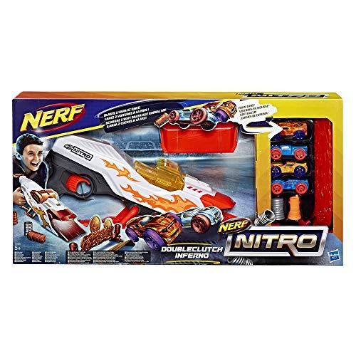 Nerf- Doubleclutch Inferno, Multicolor (Hasbro E0858EU4)