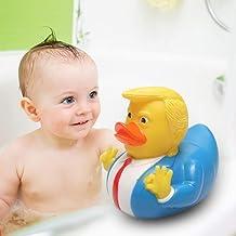 PVC Donald Trump Rubber Duck Cartoon Zwembad Party Donald Trump Rubber Kleine Eend Speelgoed Party Gift