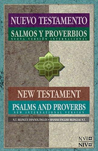 Compare Textbook Prices for NVI/NIV Nuevo Testamento con Salmos y proverbios - Bilingue Spanish Edition Bilingual Edition ISBN 9781623370800 by Zondervan