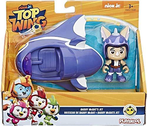 Hasbro Top Wings Vehicle - Baddy McBat's Jet