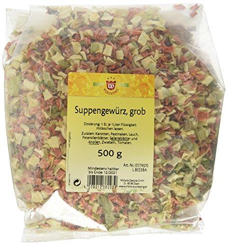 Wichartz Würzkönig Suppenkräuter, 4er Pack (4 x 500 g)