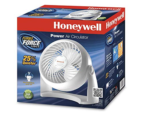 Honeywell HT-904 Tabletop Air-Circulator Fan White