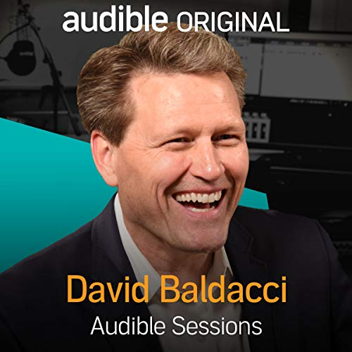 David Baldacci audiobook cover art