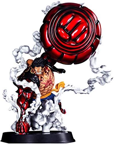 Anime (Figura de acción) One Piece Monkey D Luffy Gear 4 SNAKEMAN KING COBRA Anime Modell PVC - Anime Fans, la primera opción para regalos 2020 Nuevo 10.6 pulgadas 2.0 (Color: Rojo) DSB (Color: Rojo)