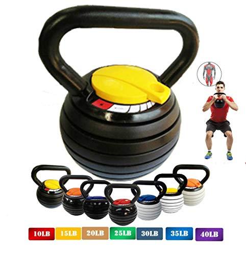10-40LBS Kettlebell Weights Sets, Adjustable...