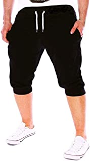Ximandi Mens Running Shorts, Workout Bodybuilding Quick Dry Breathable Pants