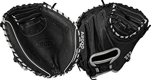Wilson da Uomo A2000M1Superskin Guanto da Baseball, Black|White, R