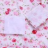Urijk Robe Chien Robe de Princesse pour Chien Robe de Mariage Floral Coton pour Chihuahua Robe de Anniversaire Chien Gilet été Chien Jupe Chien Jupe Élégante Chemise Chien Confortable