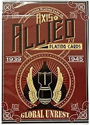 Bicycle 1 Global Unrest Playing Cards Axis & Allied Poker Magic Deck by RJ Tomlinson