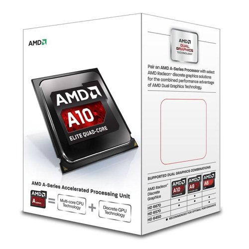 AMD A10-6700 4C 65W FM2 4MB 4.3G HD8670D Box