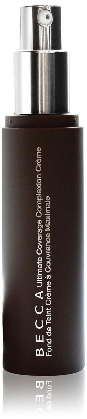 床を掃除する動機第二にBECCA Cosmetics - Ultimate Coverage Complexion Creme - Mahogany