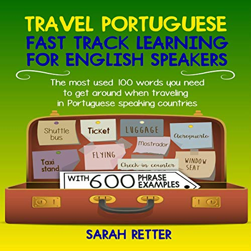 Travel Portuguese: Fast Track Learning for English Speakers audiobook cover art