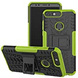 Jhxtech Huawei Honor 7C / Y7 Prime 2018 Case, [Kickstand]