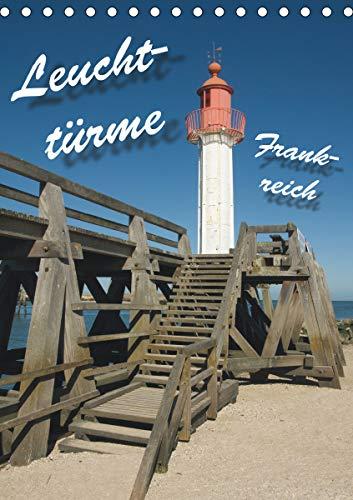 Leuchttürme Frankreich (Tischkalender 2021 DIN A5 hoch): Leuchttürme an Frankreichs Westküste (Monatskalender, 14 Seiten )