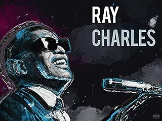777 Tri-Seven Entertainment Ray Charles Poster Music Art Print, 24