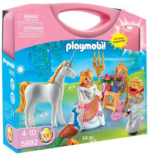 Playmobil 5892Prinzessin und Magisches Schloss, Koffer