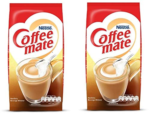 R G Enterprise Nestle Coffee Mate, Non-Dairy Beverage Whitener, Pack of 2,...