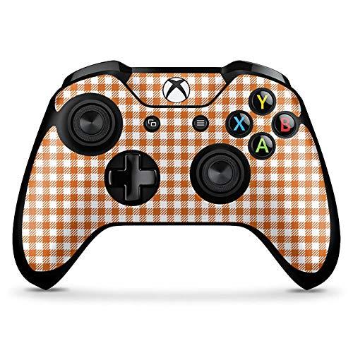 Skin kompatibel mit Microsoft Xbox One X Controller Aufkleber Folie Sticker Karo Picknick Decke