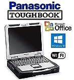 Quality Panasonic Toughbook CF-31 Rugged Laptop - Win 10 PRO - Intel Core i5 2.5GHz CPU - New 256GB SSD - 8GB RAM - DVD/CD-RW