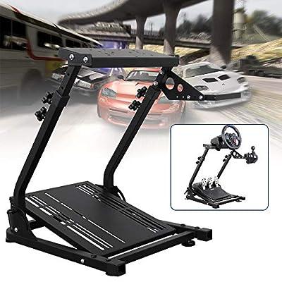 Racing Simulator Steering Wheel Stand height adjustable for Logitech G25,G27,G29