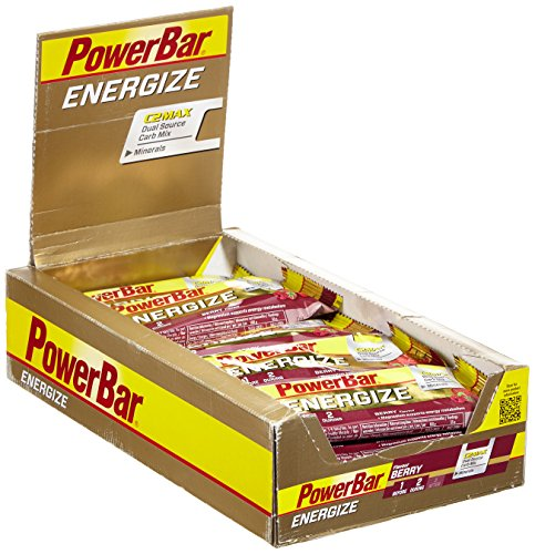 Powerbar Energize Riegel 55 g berry - BOX