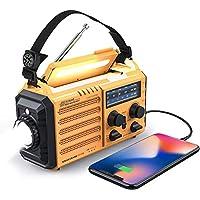 Raynic 5000mAh Solar Hand Crank Emergency Radio