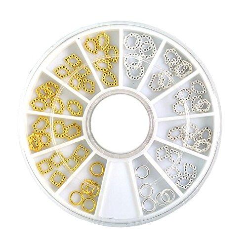 Nail Art Glitters Bricolage Décoration Cadeau pour Nail Art