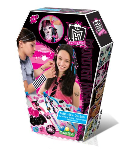 Monster High - MHC 003 - Kit de Loisir Créatif - Mèches à Customiser