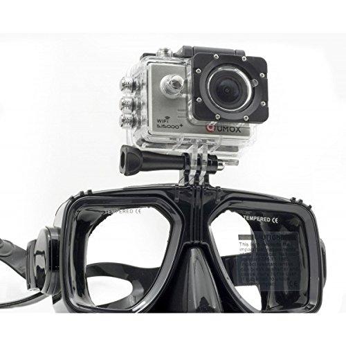 Theoutlettablet® duikbril voor Gopro Hero/SJcam SJ4000 / SJ5000 Dive