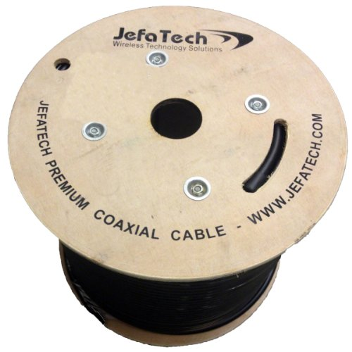 JEFA Tech Low Loss 400 Coax - 500 ft. Reel. Buy it now for 399.95