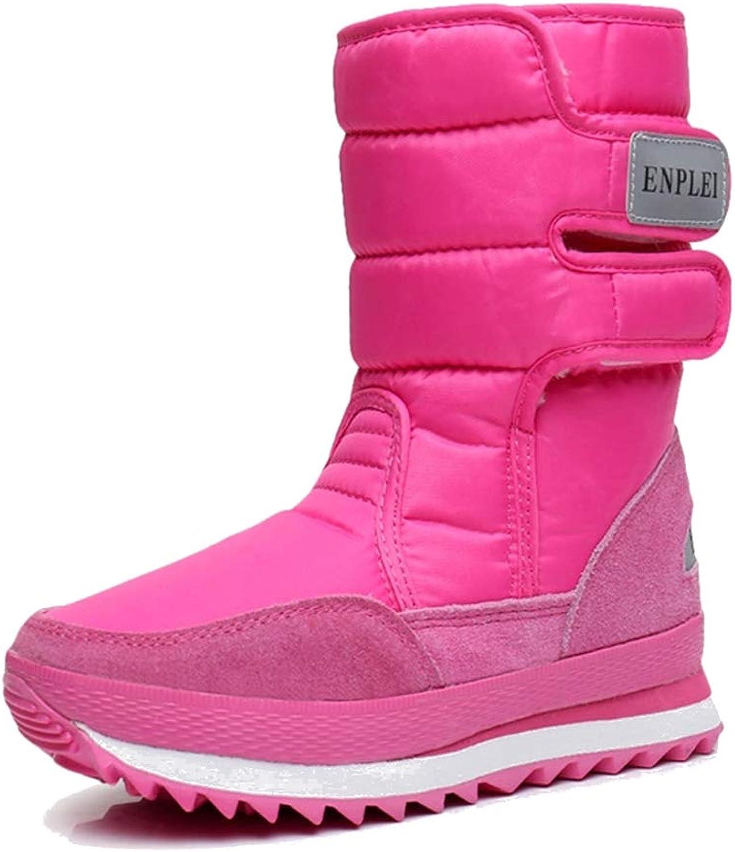 KINDOYO Women's Snow Boots - Autumn Winter Plus Velvet Boots