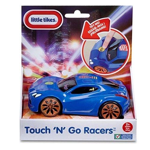 Little Tikes – Touch 'n Go Racers – Bleu – Véhicule Motorisé avec Effets Sonores