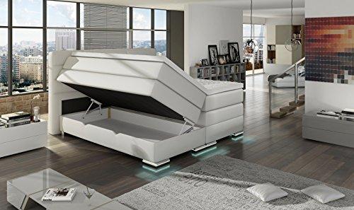 XXL Boxspringbett ROMA mit Bettkasten 180x200cm - 4