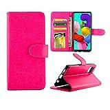 Coque de téléphone de protection de téléphone pour Galaxy A51 Crazy Horse Texture Texture...