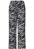 Street One - Pantalon Large avec imprimé zébré Noir Taille 38/30