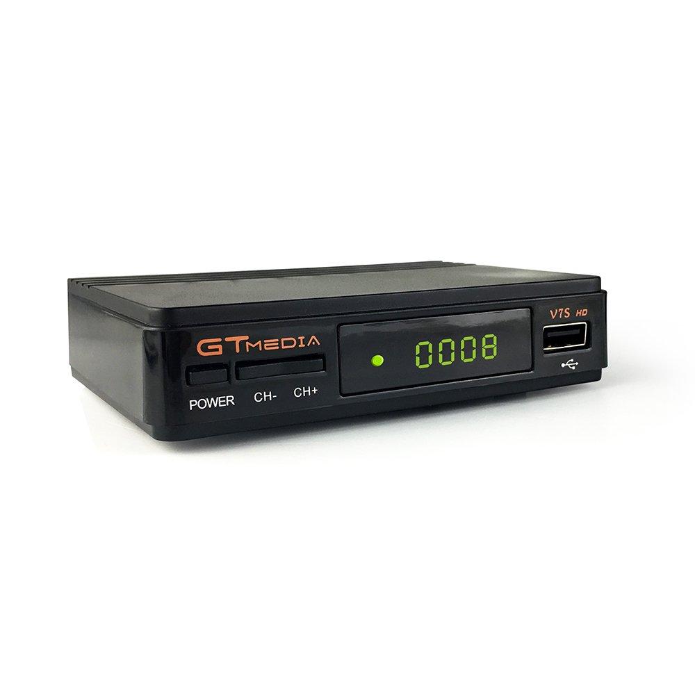 GTMedia V7s Receptor de Satélite DVB S2 Support 1080P Full HD ...