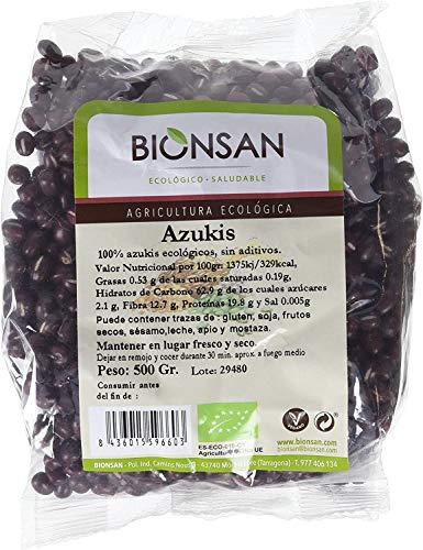 Bionsan Azukis Ecológicos | 6 Bolsas de 500 gr | Total: 3000 gr