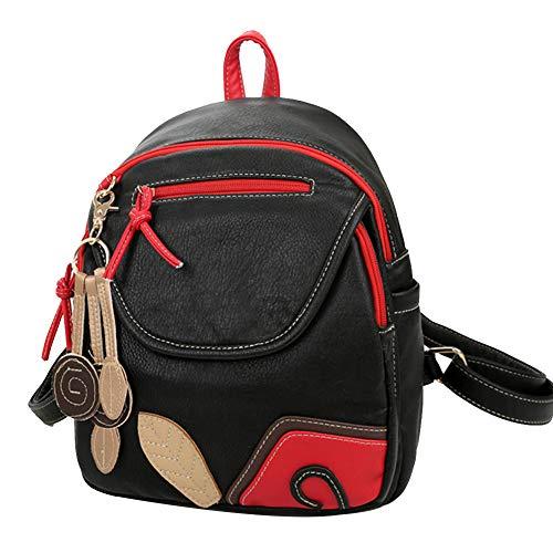 Eshow Women Backpack Shoulder Bags Nylon Chest Bag Casual Daypacks Crossbody Bag for Girl Multipurpose Bag Oxford Fashion Daypack Leisure Teenagers Everyday Printing