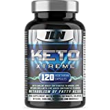 Keto Xtreme - Supplement for Ketogenic Diet - with Zinc for Metabolism of Fatty Acids - Full 1 Month Course (120 Vegetarian Capsules)