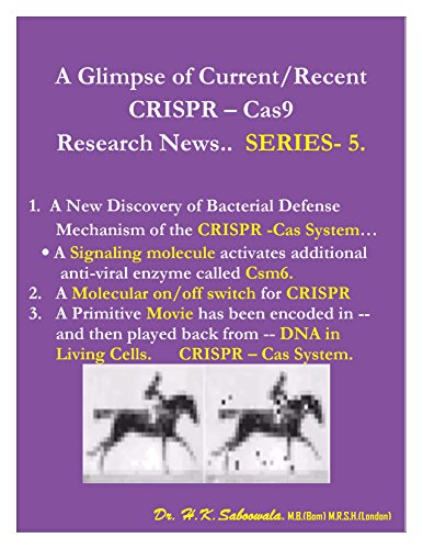 ""\""""A Glimpse of Current/Recent CRISPR – Cas9 Research News"""".. SERIES-5.: New Discovery of anti-viral enzyme called Csm6 i CRISPR Cas-9 System (English Edition)""386|500|?|en|2|3c2b7a30061f817f99c5febcee1d6a40|False|UNLIKELY|0.3023262619972229