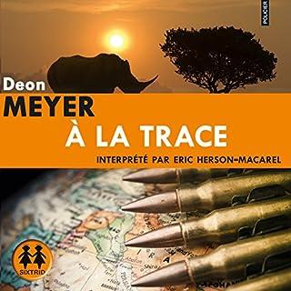 À la trace audiobook cover art