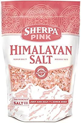 Sherpa Pink Authentic Himalayan Salt Coarse Grain