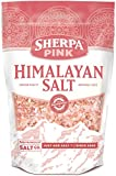 Sherpa Pink Gourmet Himalayan Salt - 2 lb. Bag Coarse Grain - For Grinders and Salt Mills