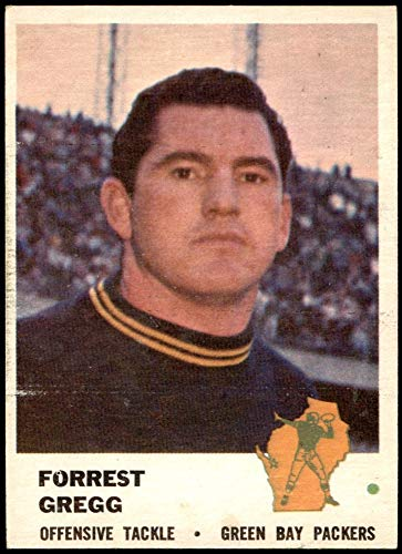 1961 Fleer # 94 Forrest Gregg Green Bay Packers (Football Card) FAIR Packers SMU