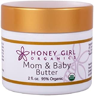 Honey Girl Organics Mom and Baby Butter, 2.0 Fluid Ounce